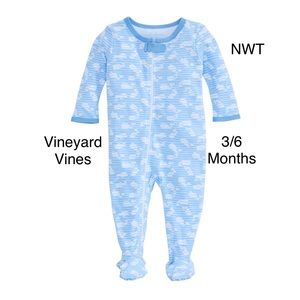 vineyard vines whale footed one piece baby